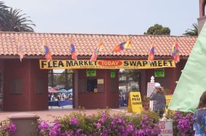 Entrance to Flea Market