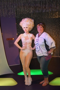 Me with the Lady Gaga Wax Model