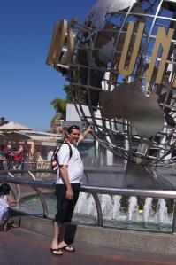 Dave at Globe - Universal Studios